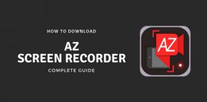 install az screen recorder for windows